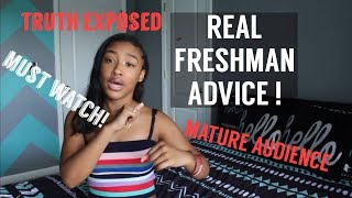 THE REAL DEAL FRESHMAN ADVICE! | MATURE AUDIENCE ONLY! | Saria Raine