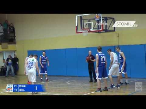 Skrót meczu Stomil Olsztyn - ACK UHT Rosa Radom