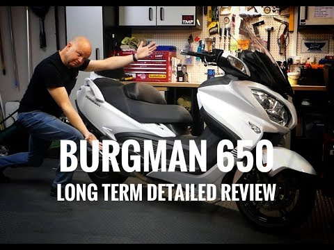 2018 Suzuki Burgman 650 Executive – Long Term Review