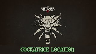 The Witcher 3: Cockatrice Hide Location/Re-spawn Cockatrice