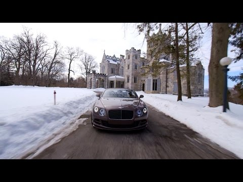 Test Driving Bentley's Continental GT Speed Convertible