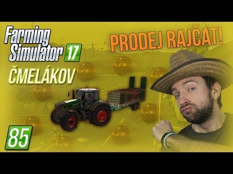 PRODEJ RAJČAT!   Farming Simulator 17 #85