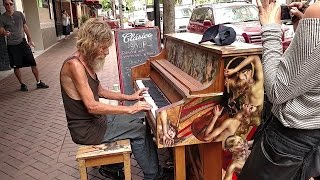 Homeless Ex-Marine Will Take Your Breath Away Playing Piano in the Streets
