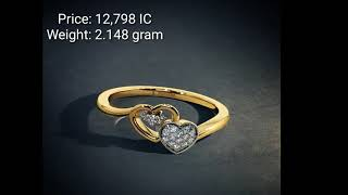 Gold Ring Designs With Weight And Price||Under 15K||From BlueStone||