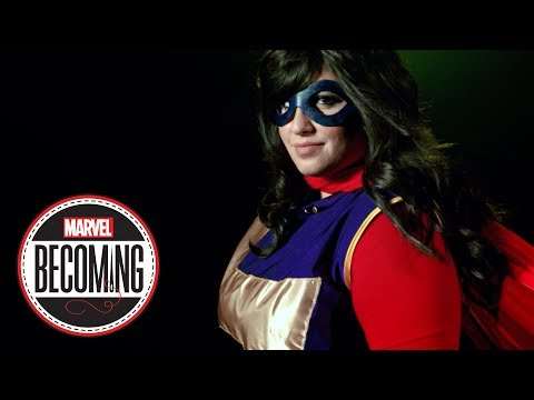 Cosplayer Jasmin Loves You Becomes Ms. Marvel
