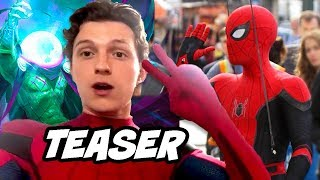 Spider-Man Far From Home Teaser - New Black and Red Suit Scene Easter Eggs
