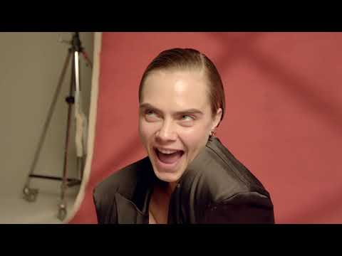 Fire questions with Cara Delevingne