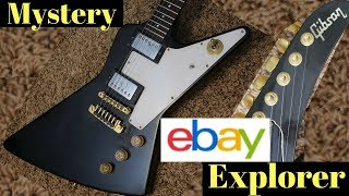 The Great Mystery eBay Explorer! Can You Solve the Case? 1982 Gibson Explorer Reissue Review + Demo