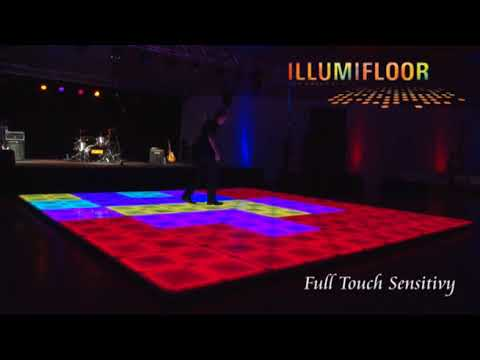 Dance Floor LED DPC Event Services - How to make a lighted dance floor