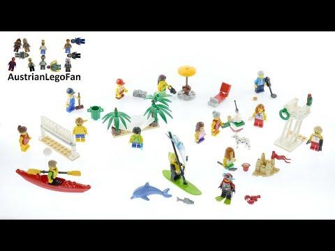 Vidéo LEGO City 60153 : Ensemble de figurines LEGO City - La plage