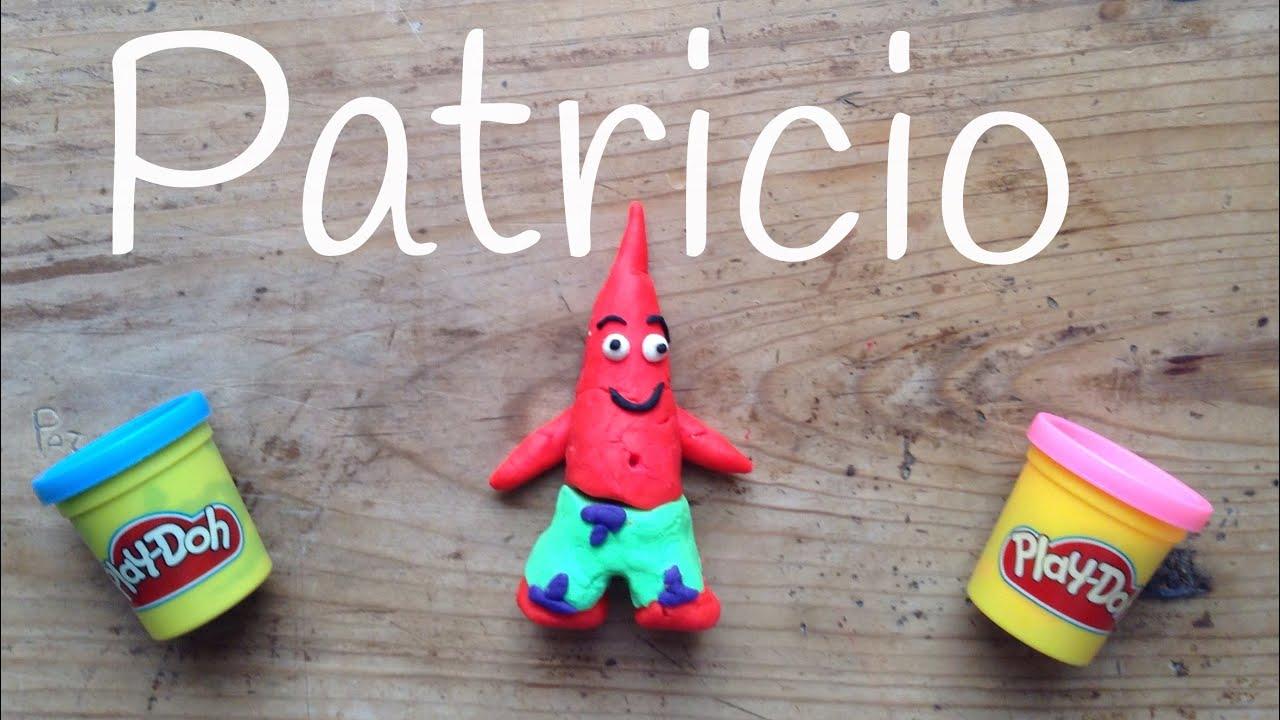 PATRICIO de plastilina PLAY DOH | Play doh de BOB ESPONJA en español