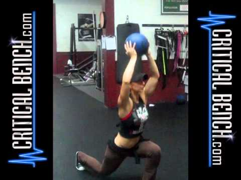 Medicine Ball Split Jumps