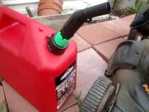 FAIL! Consumer Alert Warning Briggs & Stratton Smart Fill Spout Review FAIL!