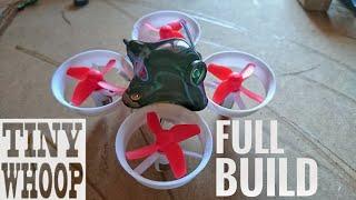 Tiny Whoop Build Akk A5 Eachine E011 Mullet Whoop FPV Setup