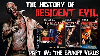 THE HISTORY of RESIDENT EVIL Part IV - 'The Spinoff Virus.'
