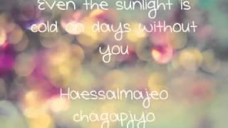 Secret) Song Ji Eun  It's Cold [Eng Rom DL] Lyrics