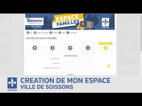 Creer son espace familles - Ville de Soissons