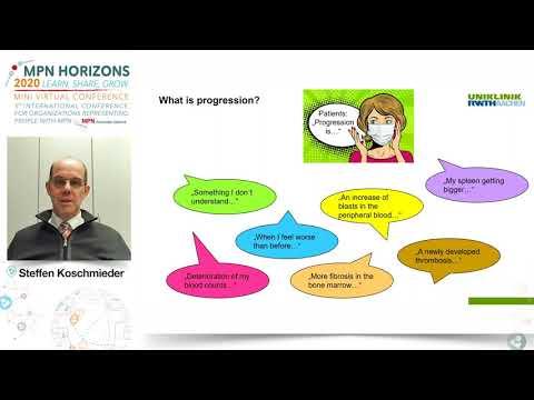 Progression in MPN from ET PV to MF - Steffen Koschmieder