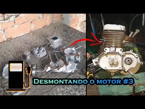 Como desmontar um motor de bicicleta motorizada, Parte 3   🛠 🛠 🛠