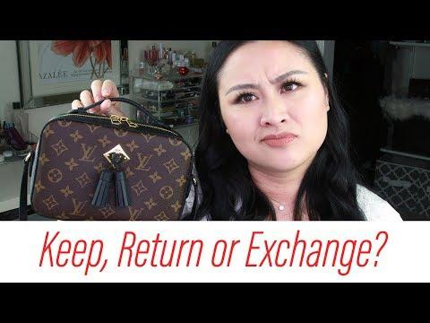 Louis Vuitton Saintonge   Keep, Return OR Exchange?