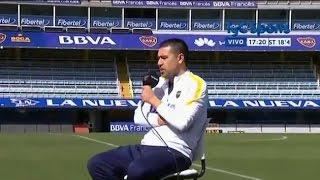 """Riquelme: """"Yo fui muy egoísta, vivía 24 horas para Boca"""""""