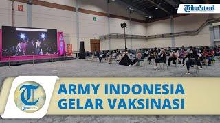 Bantu Program Vaksinasi, ARMY Indonesia Sediakan 10.000 Dosis Vaksin untuk Warga di Pameran BTS