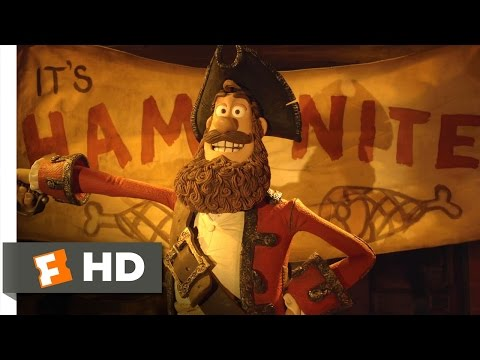 Download The Pirates! Band of Misfits (1/10) Movie CLIP - Ham Nite! (2012) HD Mp4 HD Video and MP3