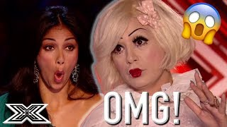 OMG!   Auditions That SHOCKED And SURPRISED The Judges | X Factor Global