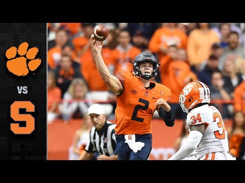 Clemson vs. Syracuse Football Highlights (2017)