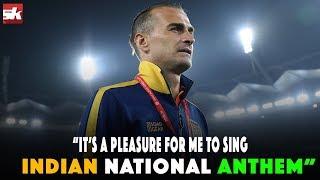 I Know Lyrics Of Indian National Anthem: Romanian Defender Lucian Goian | ISL 2018-19 | Sportskeeda