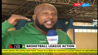 Basketball league action - 2019 FIBA African Basketball tournament