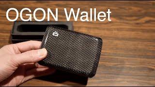 OGON Stockholm V2 Carbon Fiber Smart Wallet - Hands on Review
