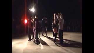 Esibizione Corso Danze Caraibiche 1° anno Festa Contrada di Colle Cagioli 20 Luglio 2012
