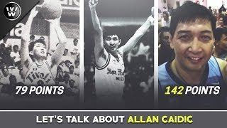 Let's Talk About The Triggerman, Allan Caidic | 79pts in the PBA, 142pts sa Exhibition