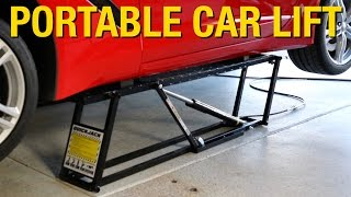 Portable Lift That Can Support Up To 7000 Pounds! QuickJack Car Lift   Eastwood