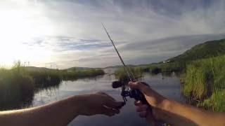 Рыбалка на озере банное башкирия