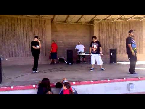 PossesseD,Craineum,Psyklone live at Kennedy Park Opening for baby bash