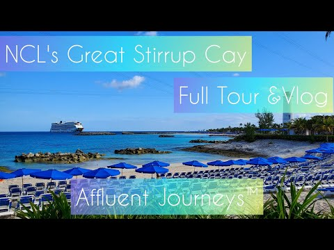 NCL's Great Stirrup Cay Full Tour & Vlog