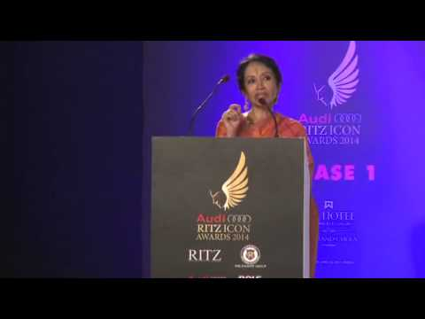 Alarmel Valli - AUDI RITZ ICON AWARDS (Chennai Edition) - 2014