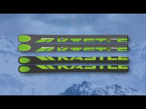Kastle FX106 HP Skis - Men's 2020