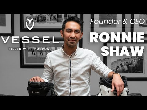 Vessel Golf Bags | Founder and CEO Ronnie Shaw