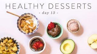 3 Quick & Healthy DESSERT IDEAS 🐝 DAY 13 | HONEYSUCKLE