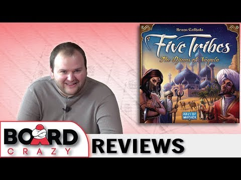 Five Tribes Review - Triumph in Cathala's Naqala