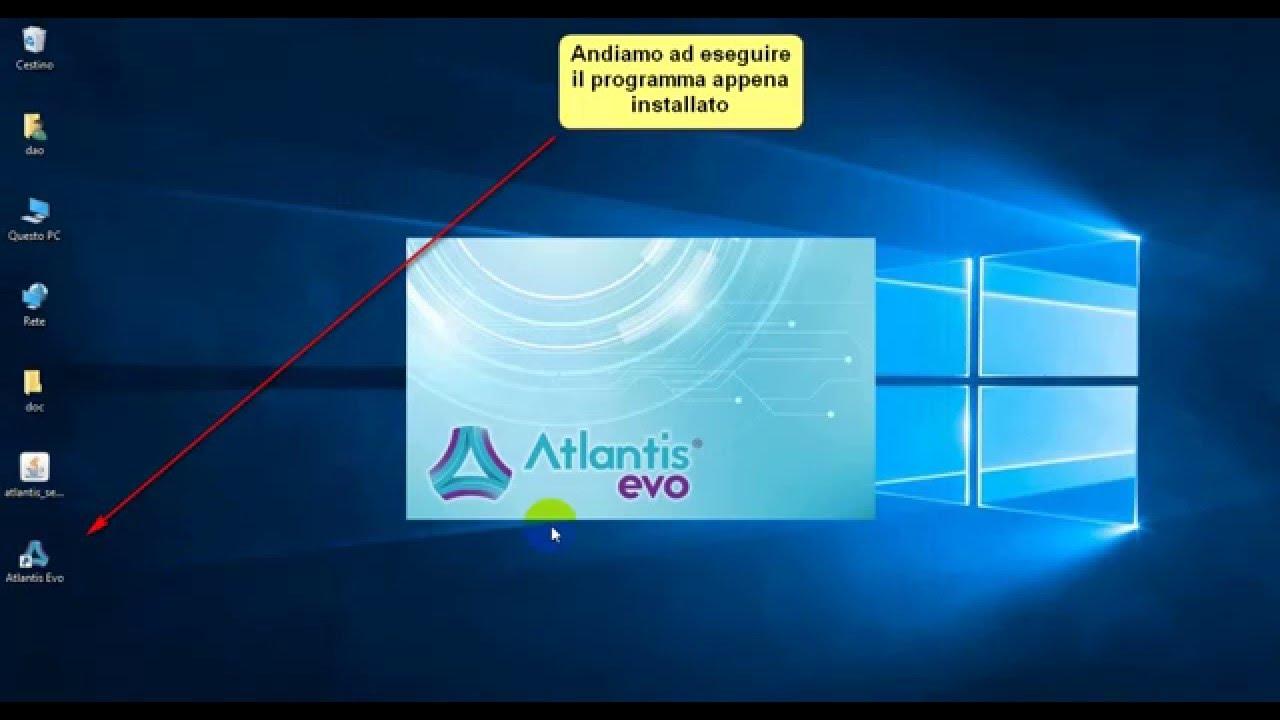 Come installare gestionale Atlantis Evo su Windows