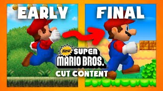 Mario Maker Cut Content - Items, Enemies and More! - The Cut