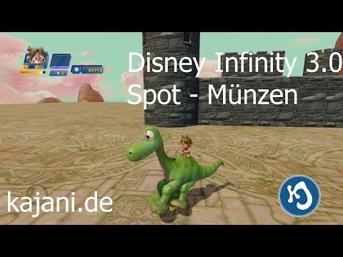 Disney Infinity 3.0 - Spot und Arlo - Bonusmünzen im Test