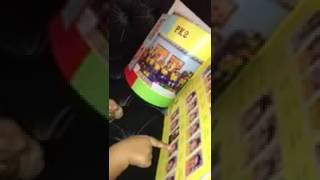 Toddler Checks Out Her Preschool Yearbook