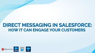Direct Messaging In Salesforce | Salesforce Lightning