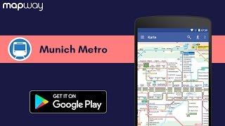 Munich Metro MVG on Android - Mapway