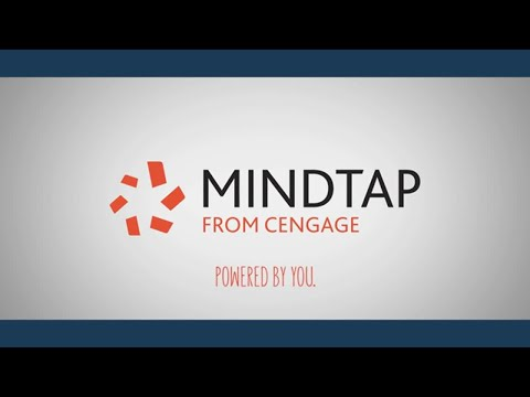 MindTap from Cengage: Powered by You